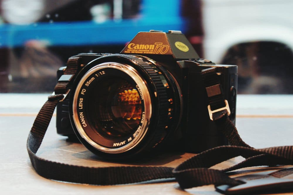 The Canon T70: An Ode to an Imperfect Film Camera