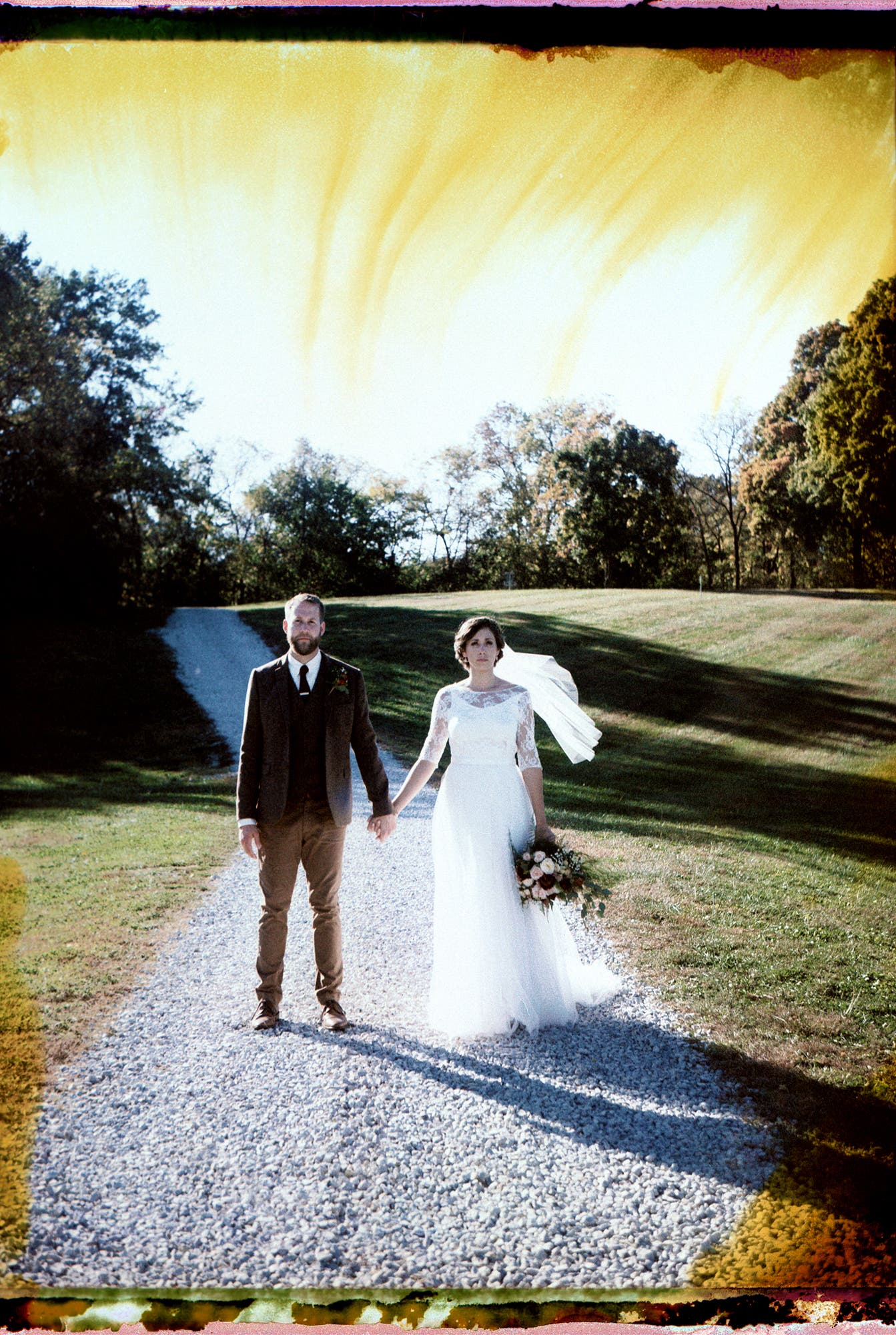 Nick Collingwood: Instant Film Wedding Photography