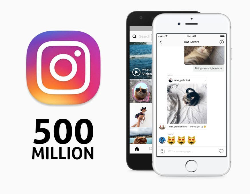 Instagram Passes 500 Million Users, And More Than Half Of Them Use It Daily!