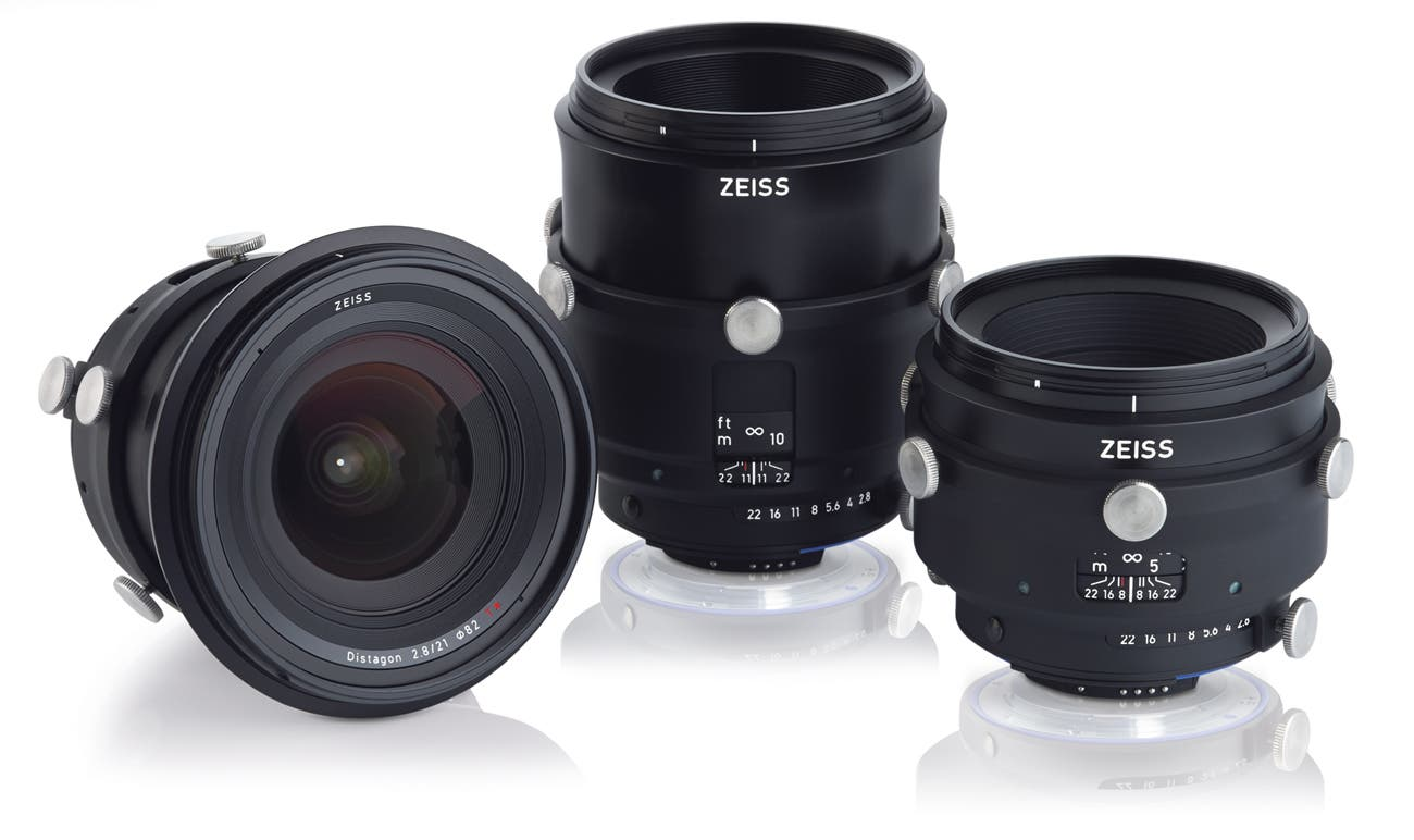 Zeiss Announces 3 New Interlock Industrial Large Format Lenses