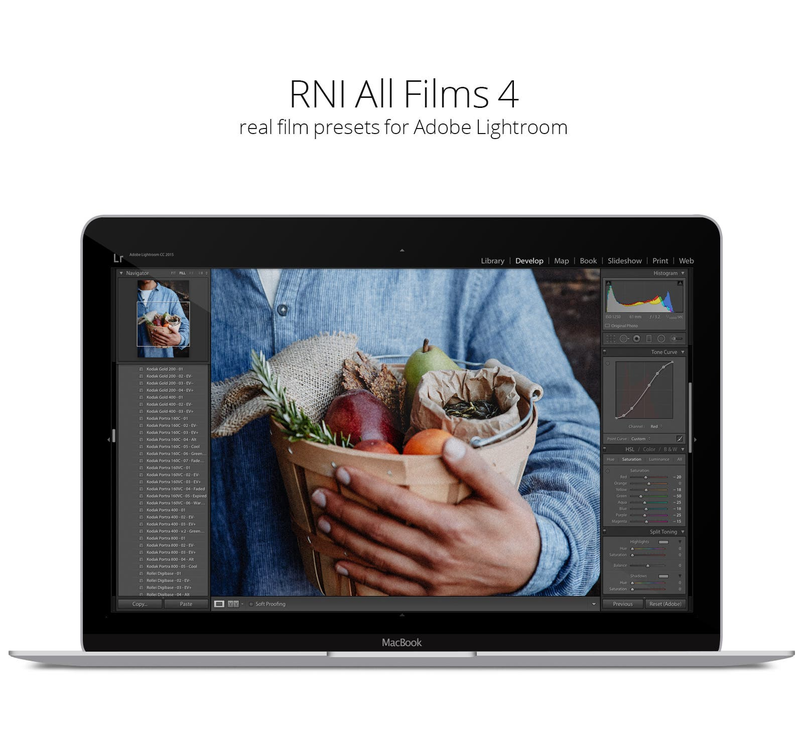 RNI All Films 4 Includes Custom Camera Profiles