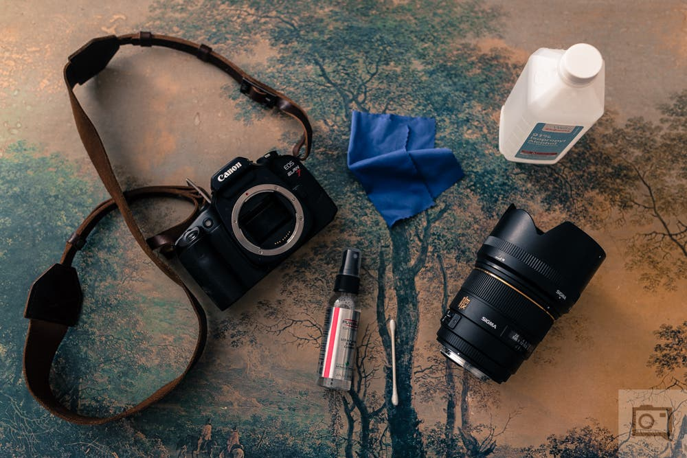 Cleaning Your Camera Lenses With Isopropyl Alcohol and Purosol