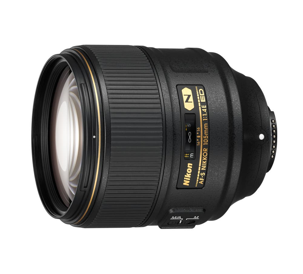 The Nikon 105mm f1.4E ED Lens is a World's First, Costs $2,199.95