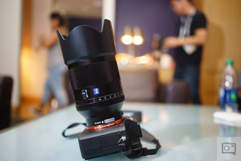 Chris Gampat The Phoblographer Sony Zeiss 50mm f1.4 FE product images review (7 of 8)ISO 4001-80 sec at f - 2.8