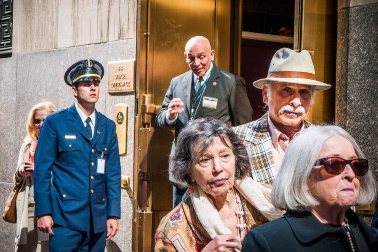 Name: Rockefeller. Taken: 2013. I included this shot in the book and gave it a full 2 page spread because of how it captures various styles from yesteryear. People often can't tell what time period this was taken. They think the guy in the blue suit is a pilot. I like when photos are time androgynous.