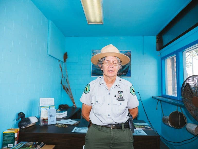 Name: Wildlife. This lady worked in the Pelham Bay Wildlife Park as a ranger. Everything about this scene seems to me from another era. I'm happy there's still people like her doing what she does but this was taken in the Bronx and was different from the surrounding area. I could see it not being there much longer.