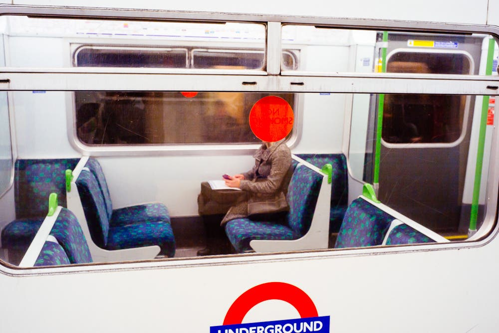 Commuters: Anonymous People of London's Daily Commute