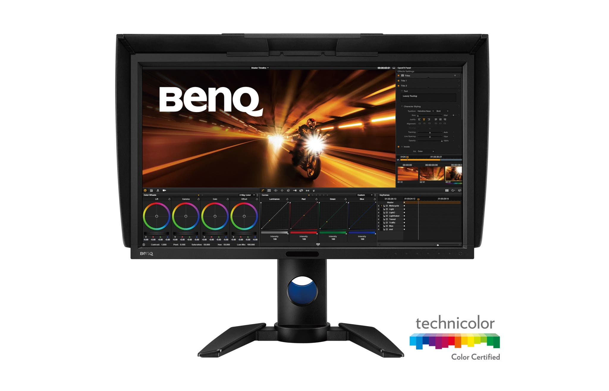 The BenQ PV270 Boasts 99% of the Adobe RGB Spectrum