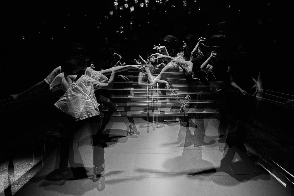 Charlie Naebeck's Kinetic Showcases Experimental Photos of Dancers