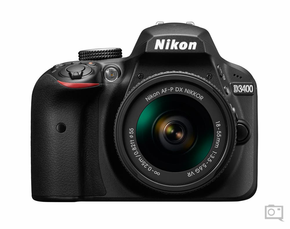 The New Nikon D3400 Has Bluetooth Connectivity