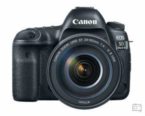 The Canon 5D Mk IV is a