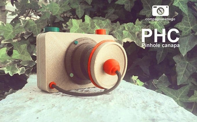 The Pinhole Hemp Camera from Kanésis is a Cool Kickstarter Project