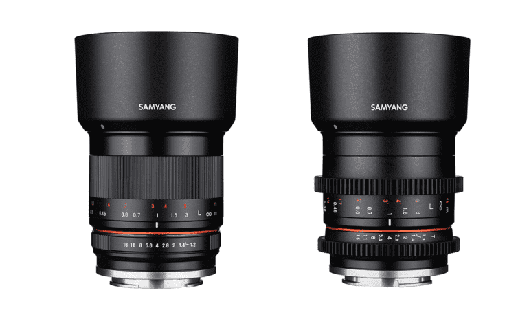 Samyang Unveils Mirrorless 35mm Photo and Cine Lens