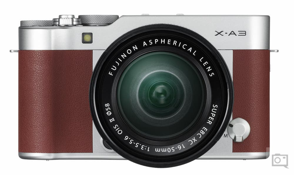 The New Fujifilm X-A3 Features a 24.2MP CMOS Sensor