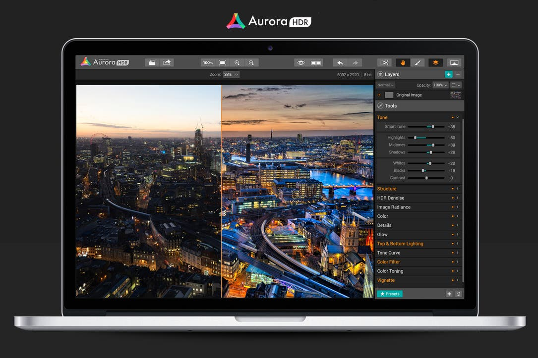 MacPhun Announces New Aurora HDR 2017 Software Update