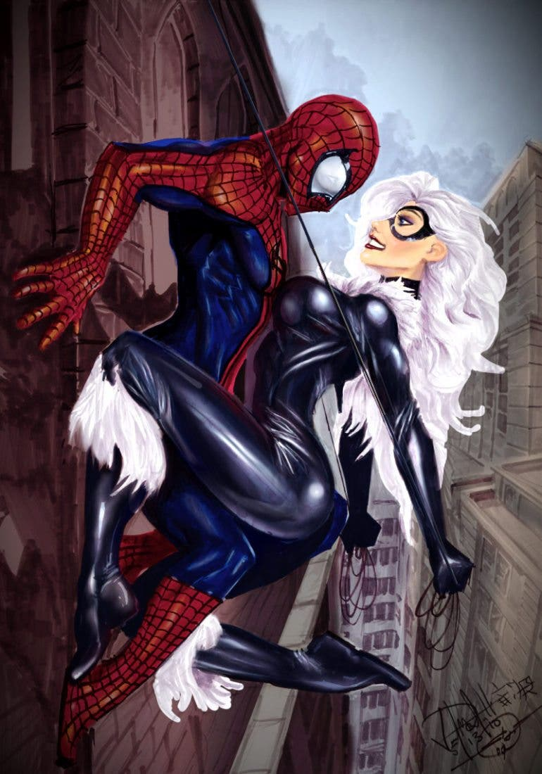 spidermanblackcat_by_nebezial_by_generalsoundwave