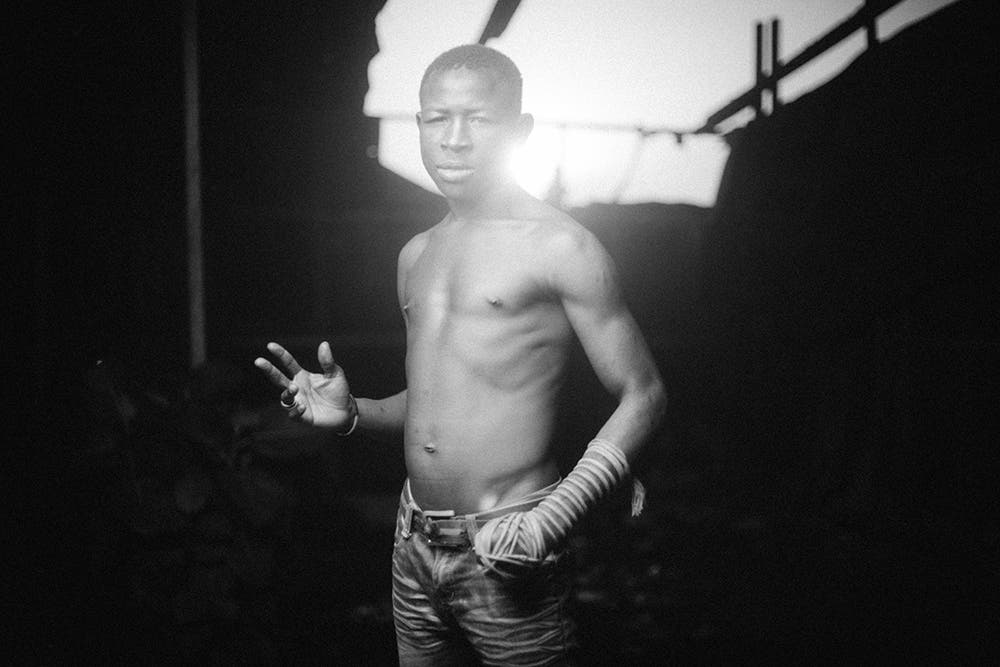 These Portraits of One Handed Dambe Fight Club Fighters Are Unreal