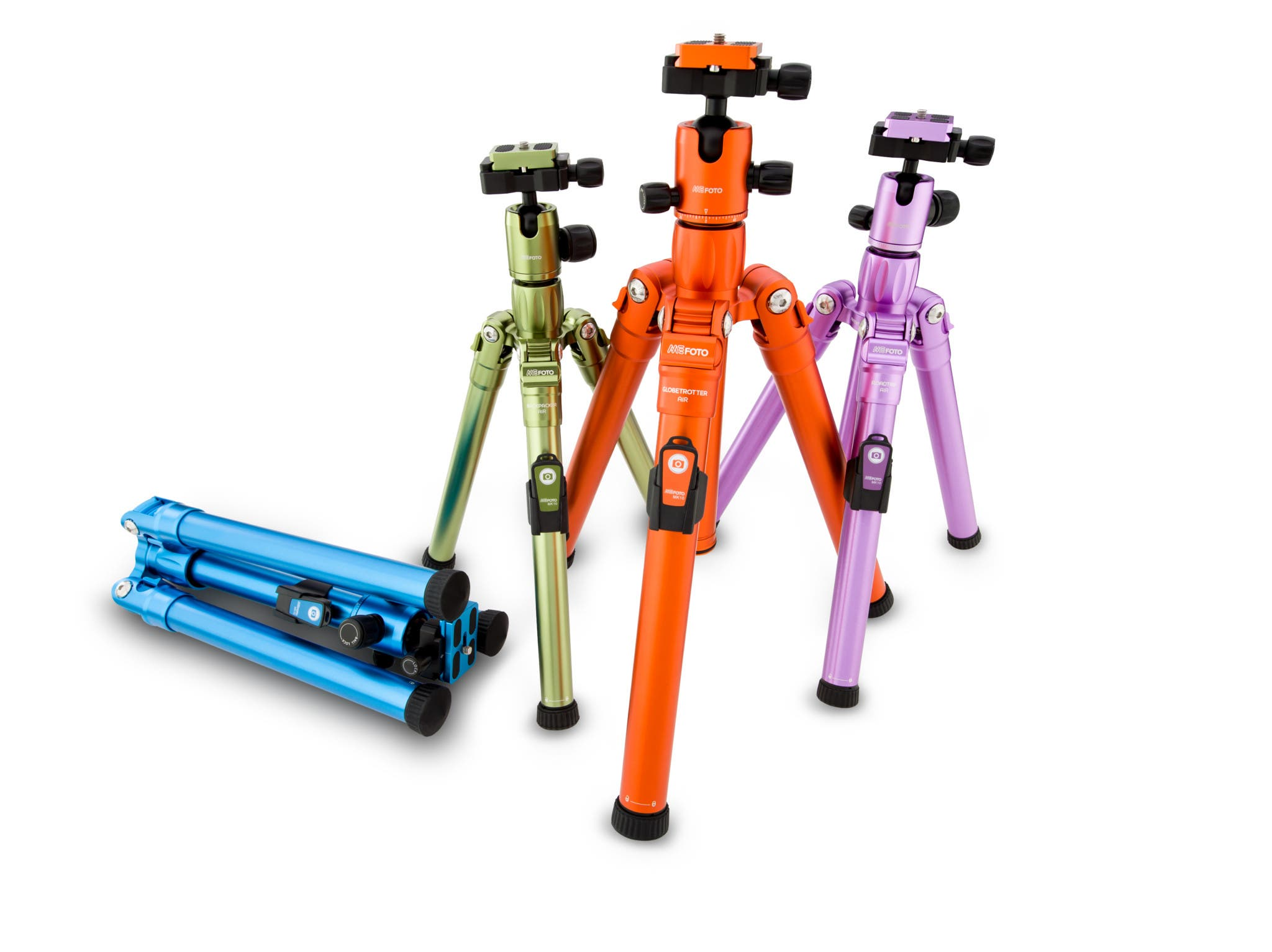New MeFOTO Air Series of Tripods and Monopods are Lighter, Faster and Easier-to-Use