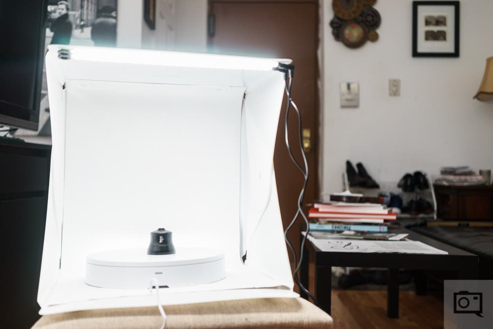 Review: Foldio 360 Product Smart Turntable Photography Tent