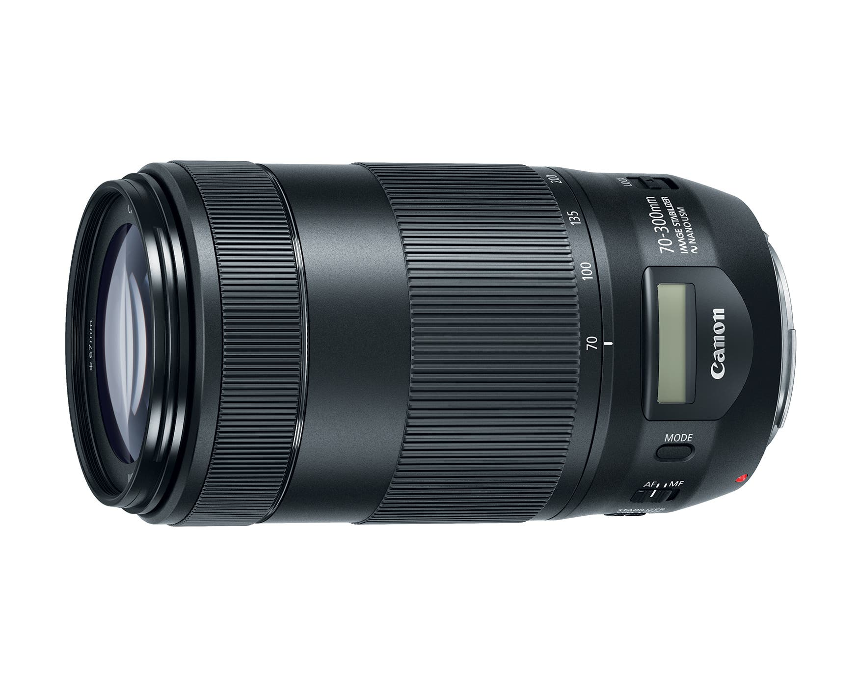 New Canon 70-300mm F/4.5-5.6 IS II USM Has An LCD Screen