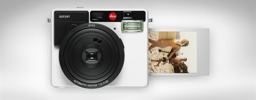 LEICA Unveils the SOFORT Instant Camera