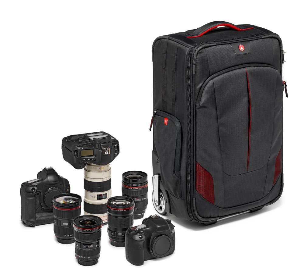 Manfrotto Launches Pro Light Reloader-55 Roller Bag