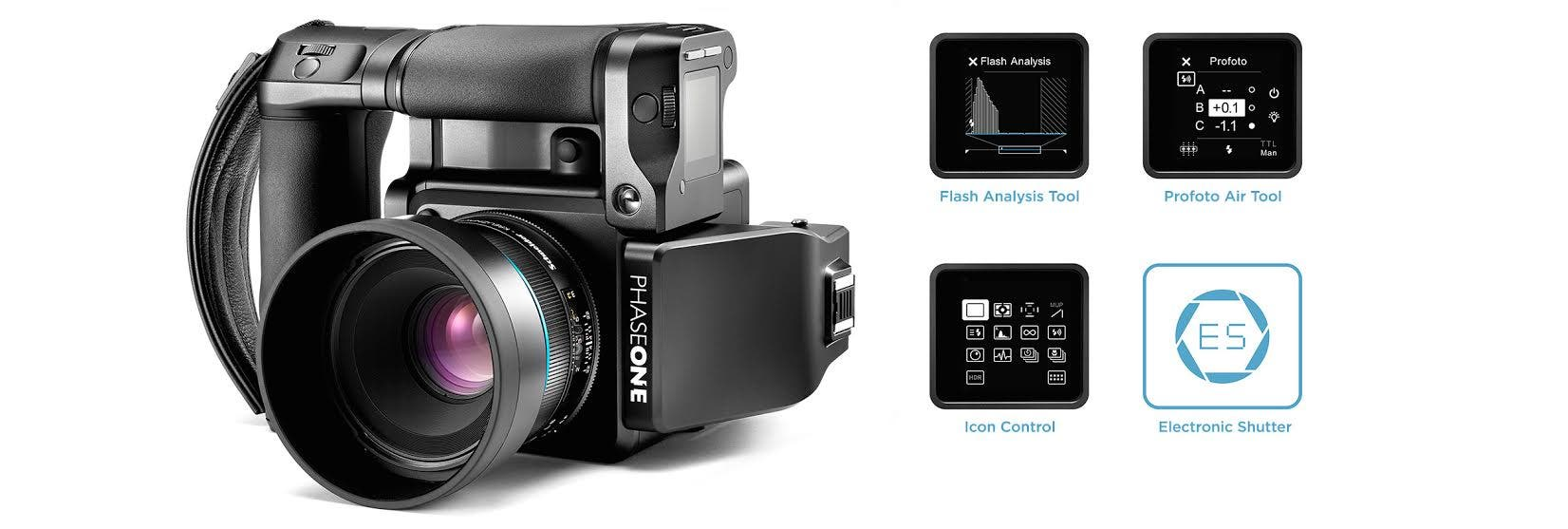Phase One's XF Cameras Can Now Control Profoto Air Lights In-Camera