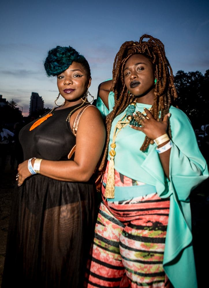 Gretchen Robinette's Beautiful Portraits of Afro Punk Festival Goers