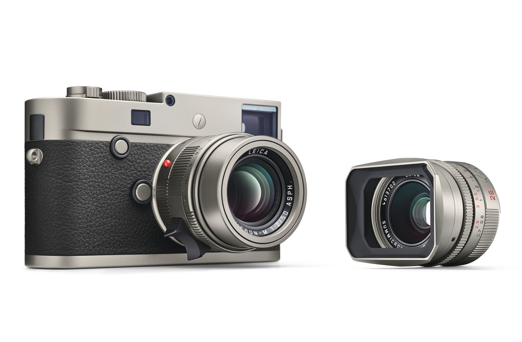 The Leica M-P Titanium Will Shoot the Most Expensive Selfies Ever
