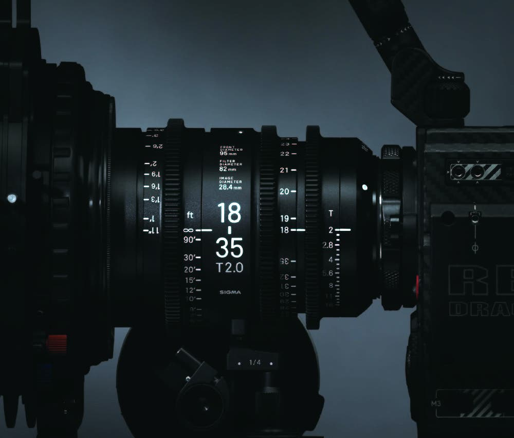 Sigma Announces New Line of Cinema Lenses