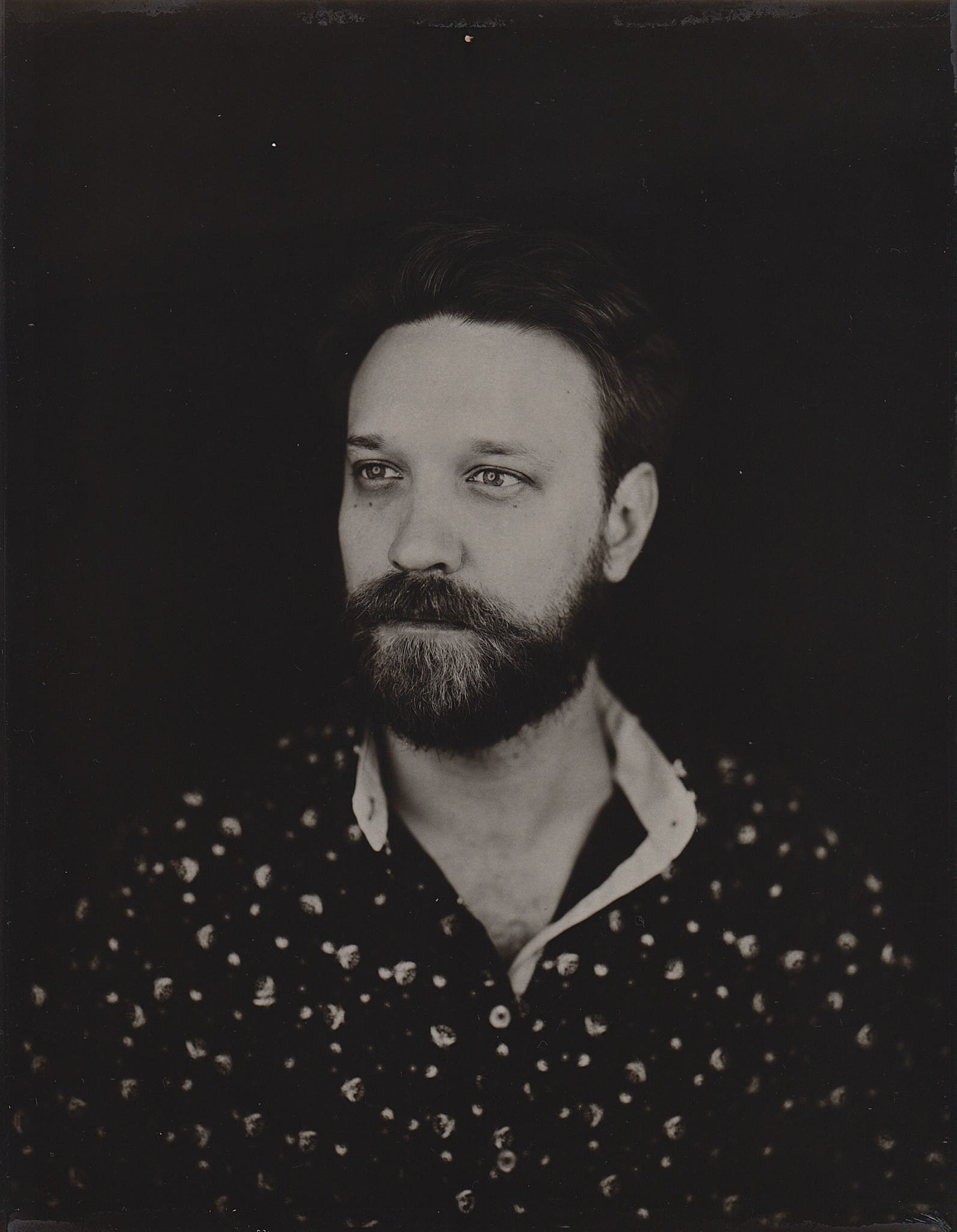 Cahute Preserves The Traditional Large Format Portrait Photography On Direct Positive Paper
