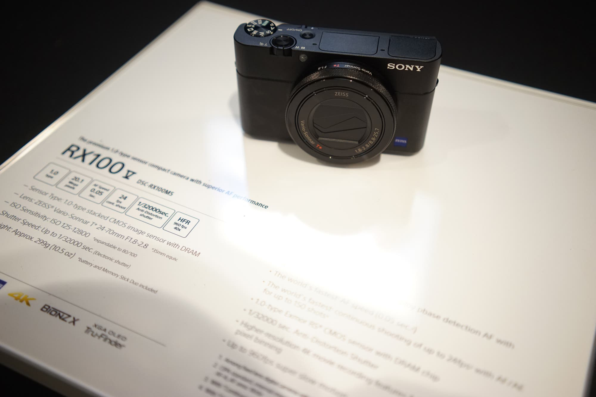First Impressions: Sony RX100 V