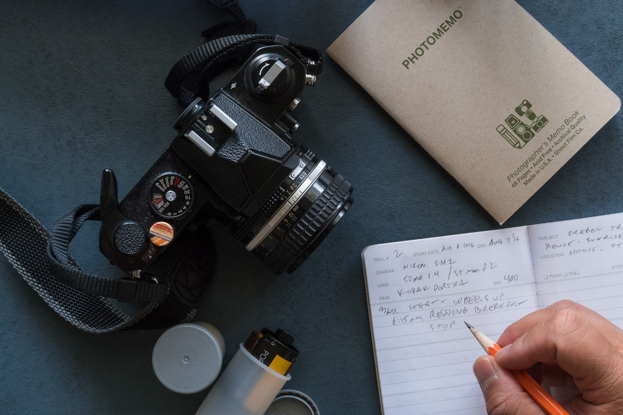 PhotoMemo Effectively Organizes Your Film Exposures Data Logging With Style