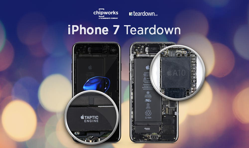 Chipworks Provides Detailed Apple iPhone 7 Teardown