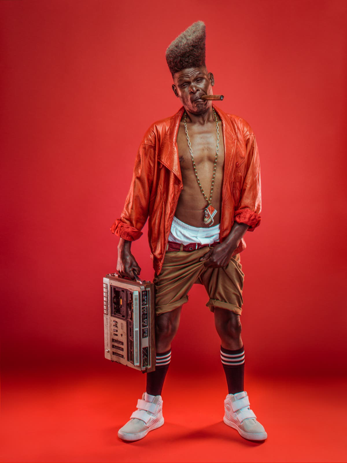 Osborne Macharia's Kabangu Series is An Ode to Old School Hip-Hop in Nairobi