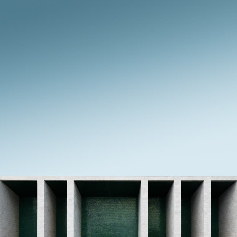Maik Lipp Used Geometric Lines In Urban Architecture Photography