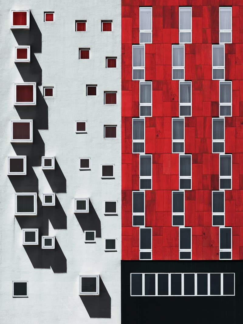 Flat Facades In Contemporary Architecture Turned Into Work Of Art