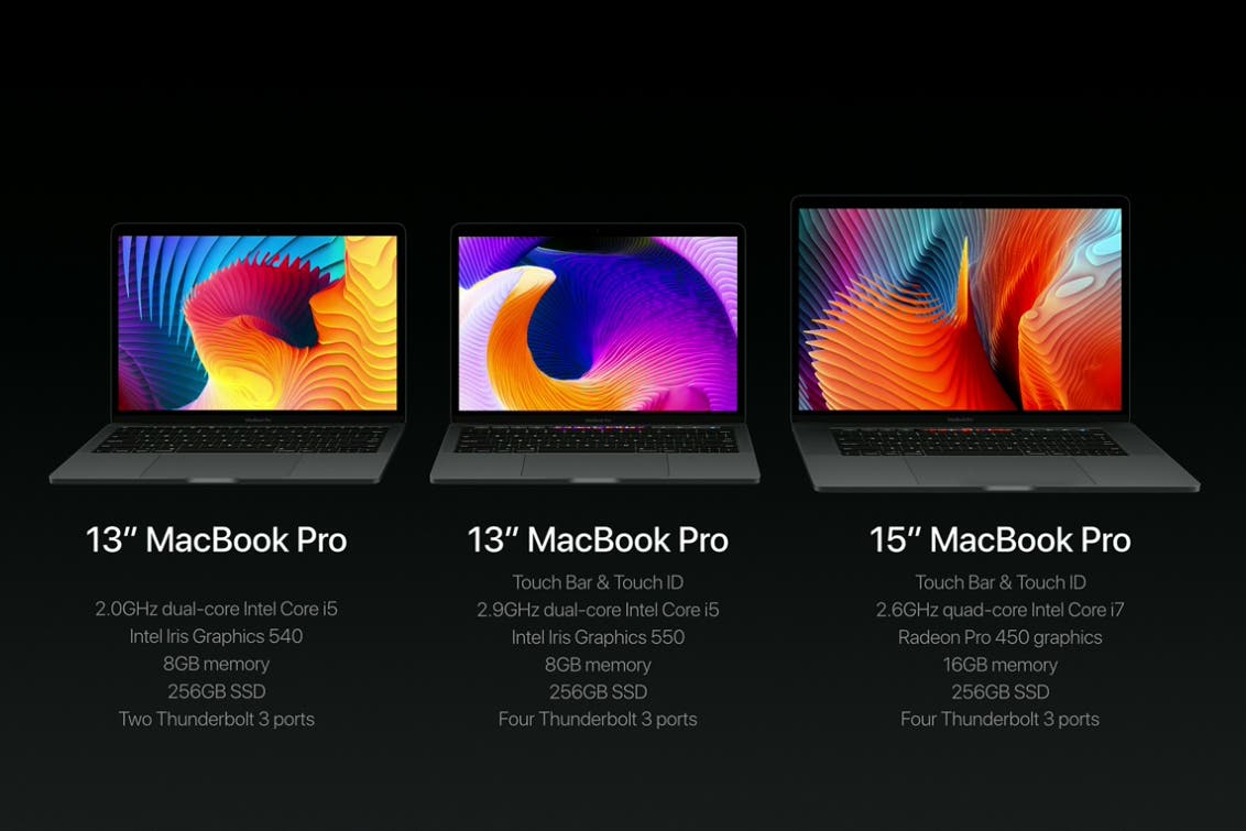 Apple's Latest Macbook Pro Line Is Here