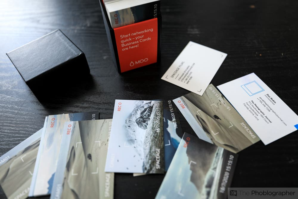 The Best MOO Business Cards for Photographers