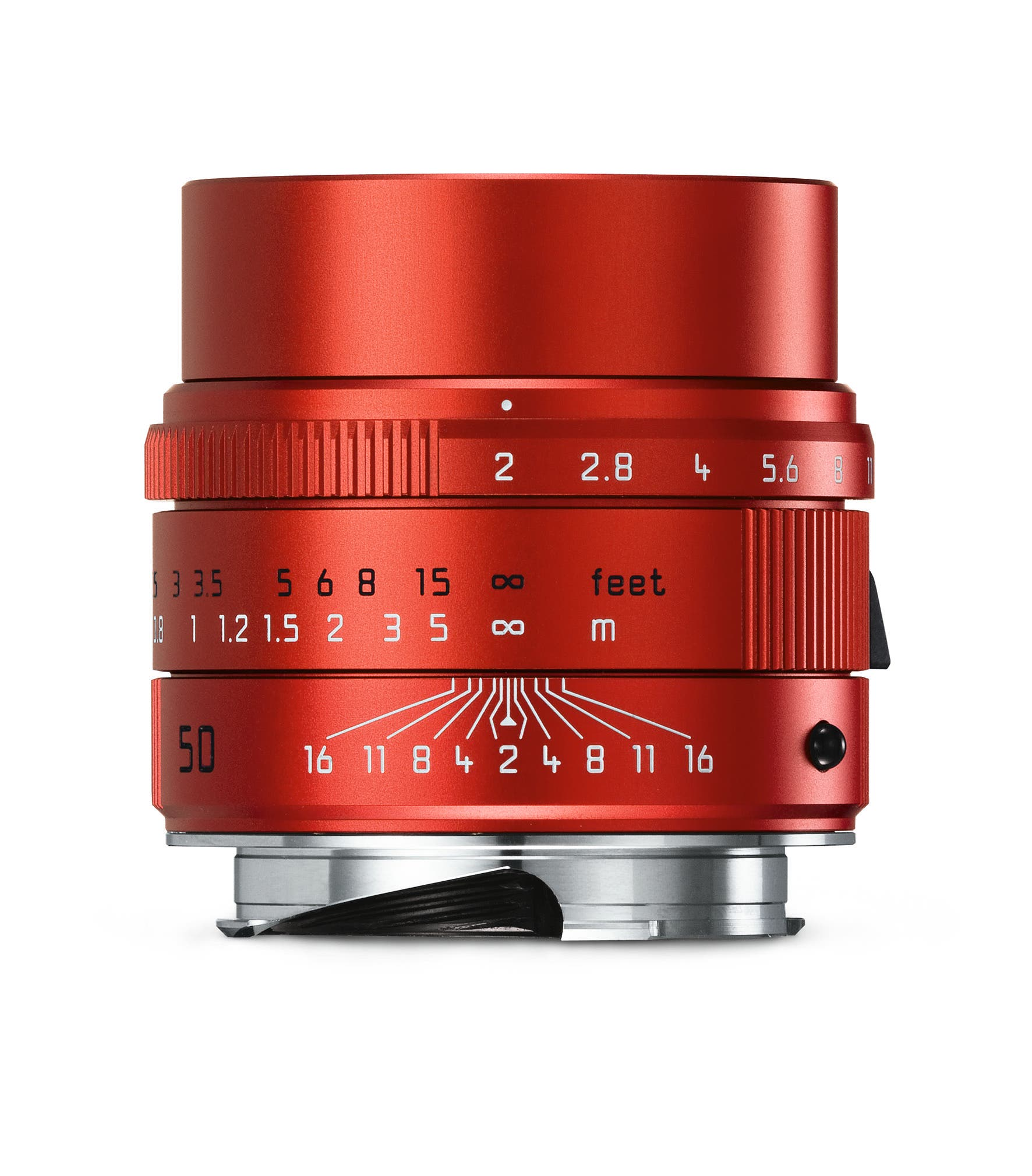 Leica Releases an APO-SUMMICRON-M 50mm f2 ASPH With a Red Finish (No, They Really Did This…)