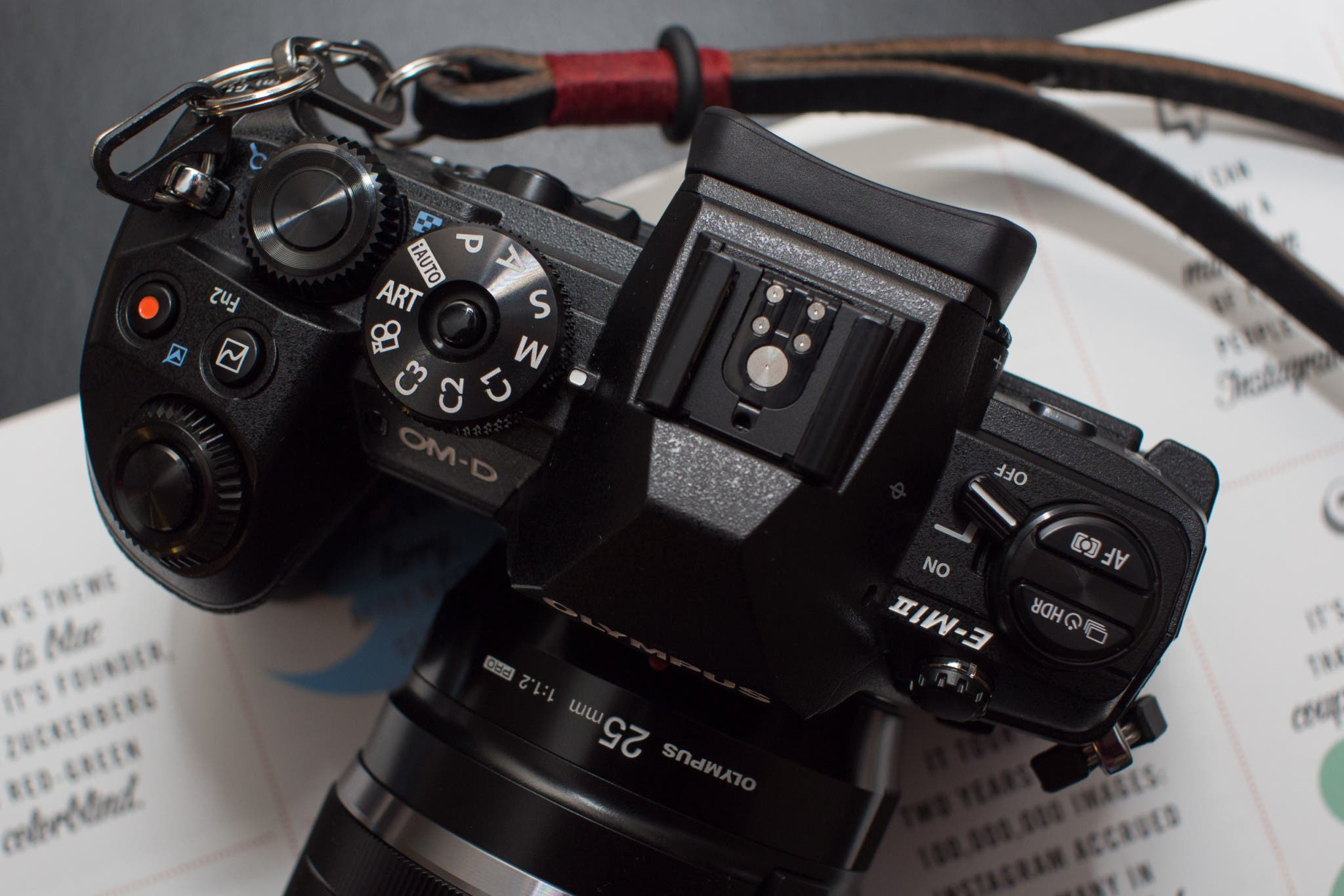 Will The Olympus OMD EM1 Mk II Survive Being Under a Running Faucet?
