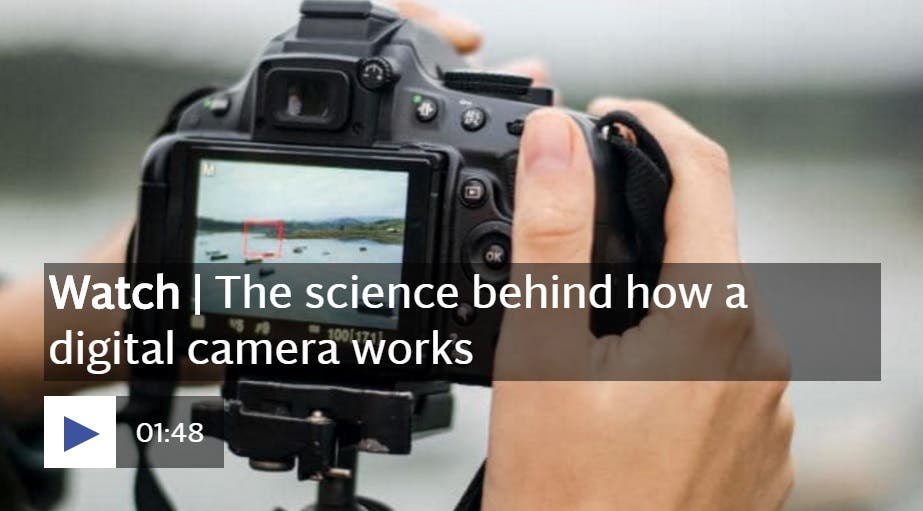This Retro Video Game Inspired Video Explains How a Digital Camera Works For Dummies