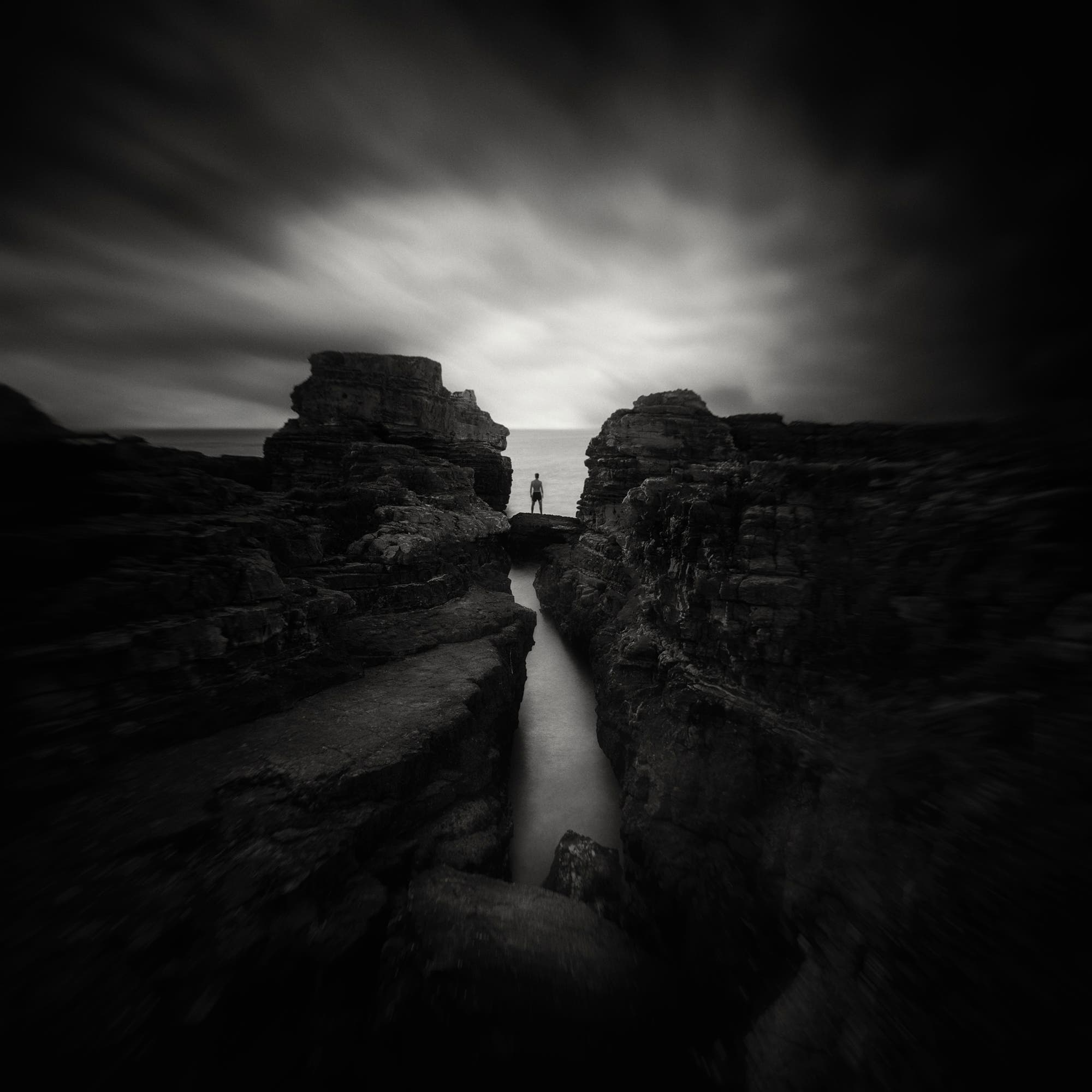 Yucel Basoglu's Haunting Black And White Landscape Photos