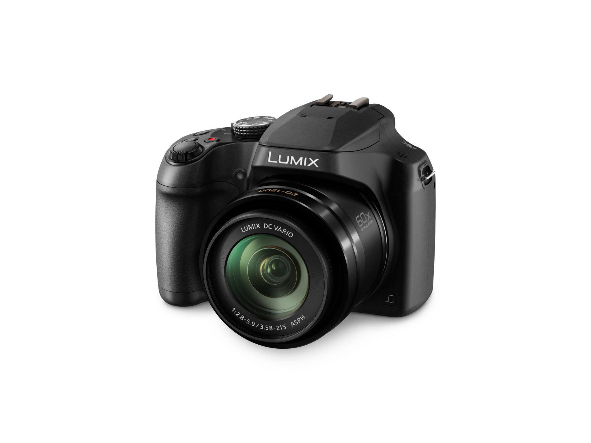 Panasonic Announces Lumix FZ80, An Ultra-Wide Zoom with Touch Focus, 4K Video, and 4K Photo