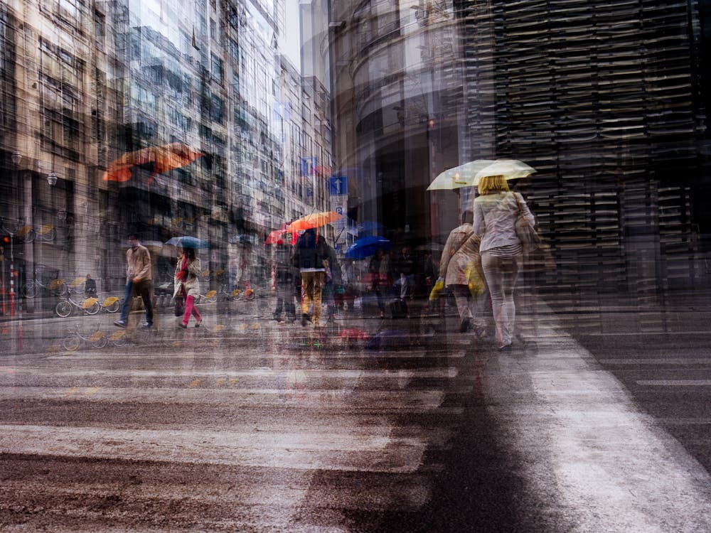 Thomas Vanoost Channels Chaos And Instability Into Multiple Exposure Photography