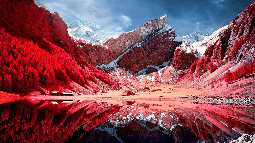 Zak van Biljon's Dreamy Landscapes Using Kodak Aerochrome
