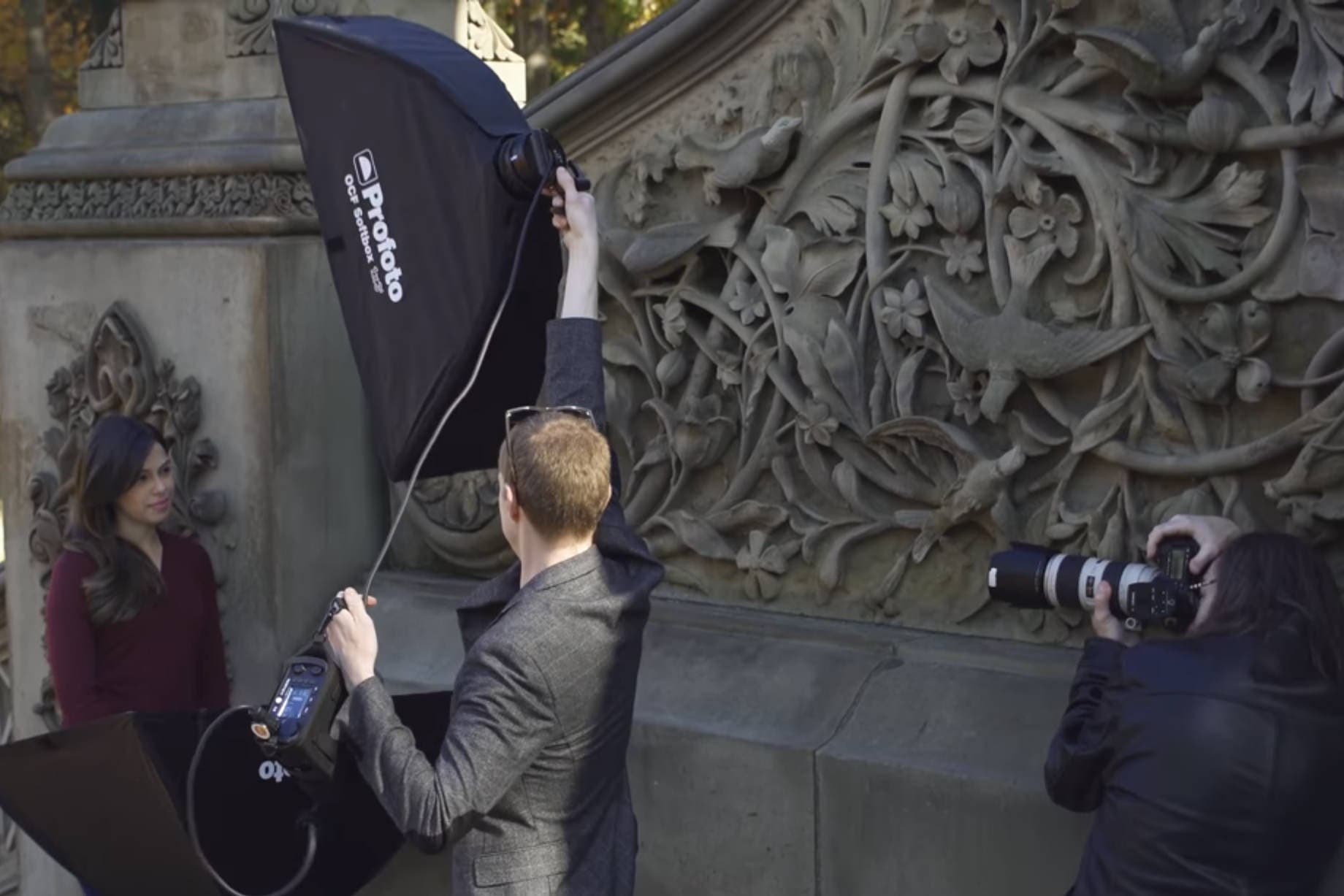 Tutorial: Mixing Strobes and Natural Light for Outdoor Headshots