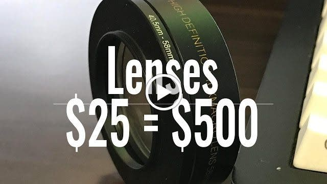 How to Use a Diopter Lens as a Cheap Macro Lens Alternative