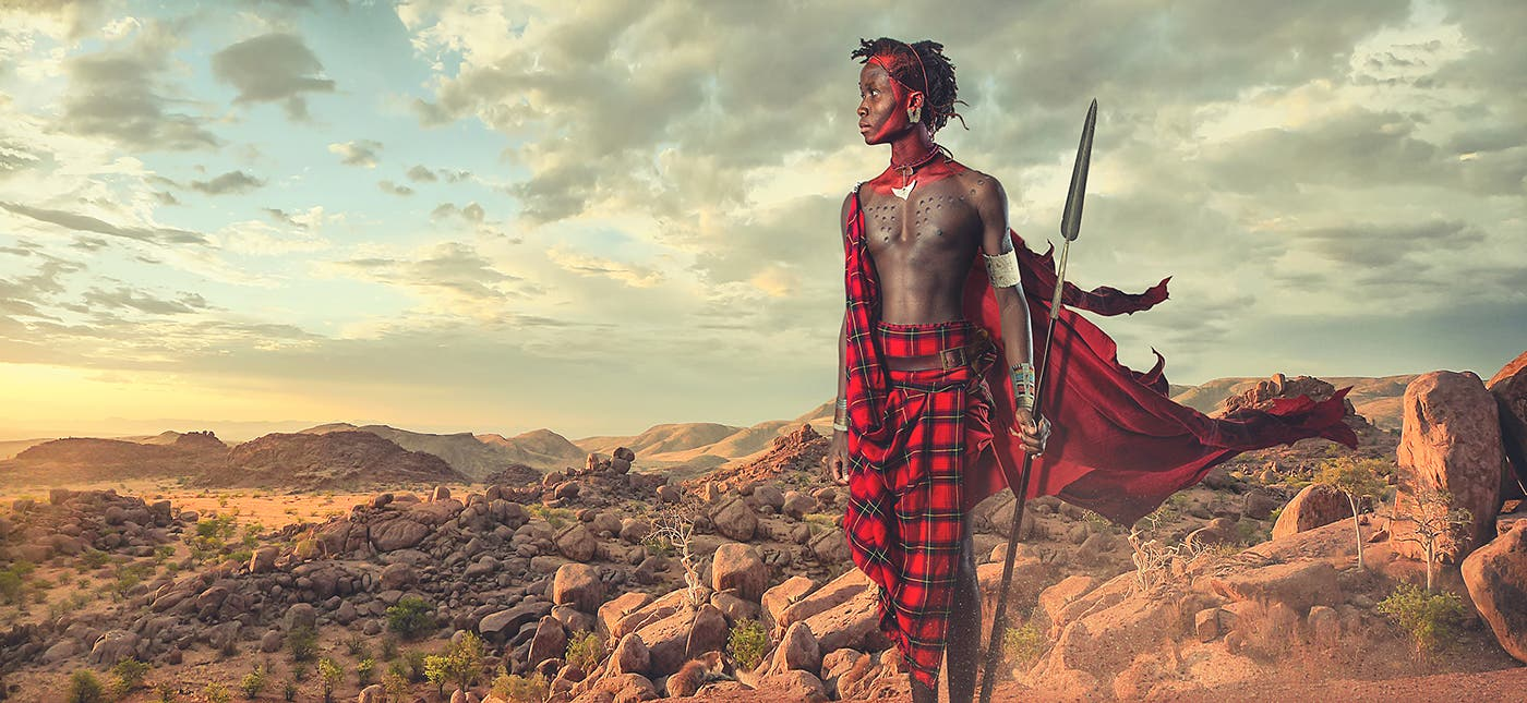 Lee Høwell Conveys The Beauty Of Ethnic Tribal Culture In His Breathtaking Composite Images