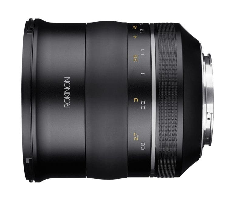 Rokinon SP lenses